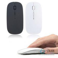 Ультратонка безпровідна оптична комп'ютерна USB-мишка