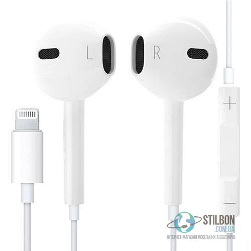 Навушники Apple Earpods Lightning for iPhone Bluetooth 399 ГРН ... 6a824e8c63553